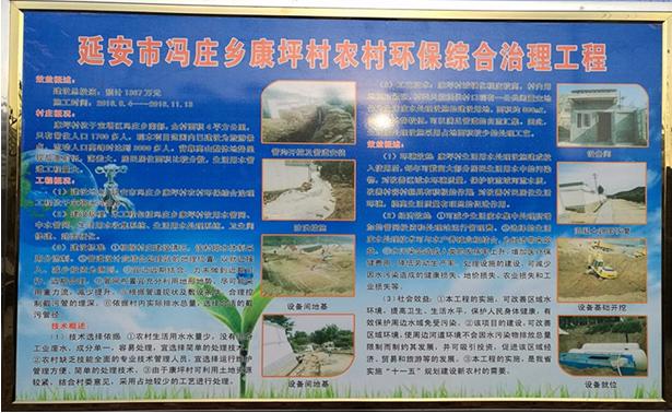 中央第六环保督察组视察康坪村给排水及生活污水处理工程