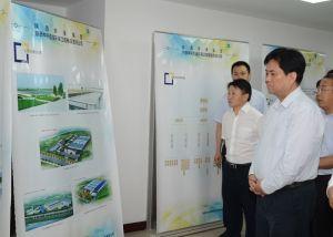 陕西省副省长张道宏来公司视察生产经营情况