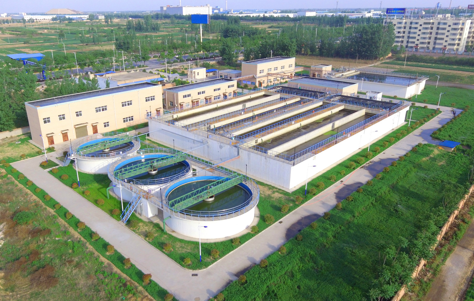 渭南市大荔县污水处理厂项