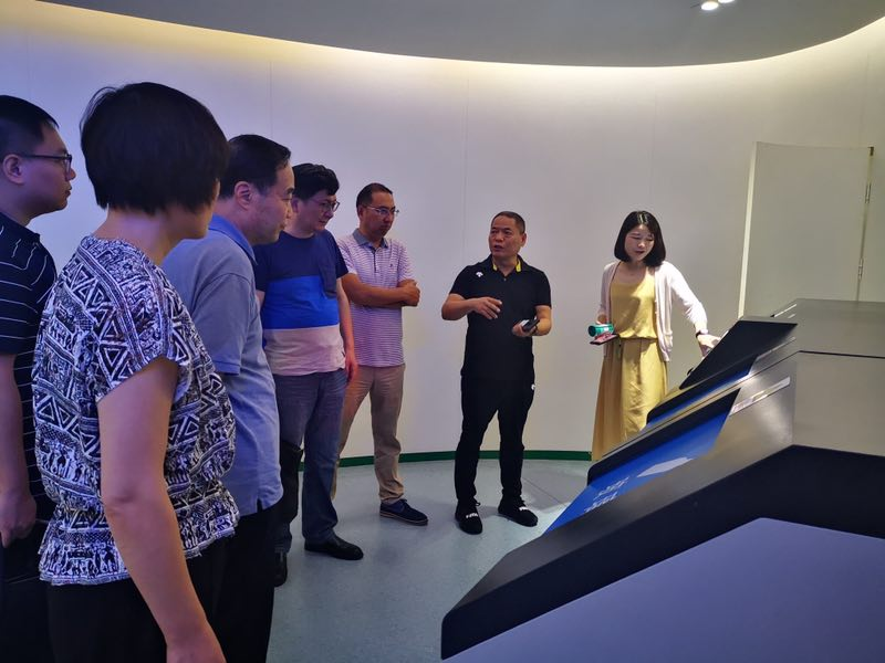 陕西环保集团赴浙江杭州联运知慧科技有限公司考察调研
