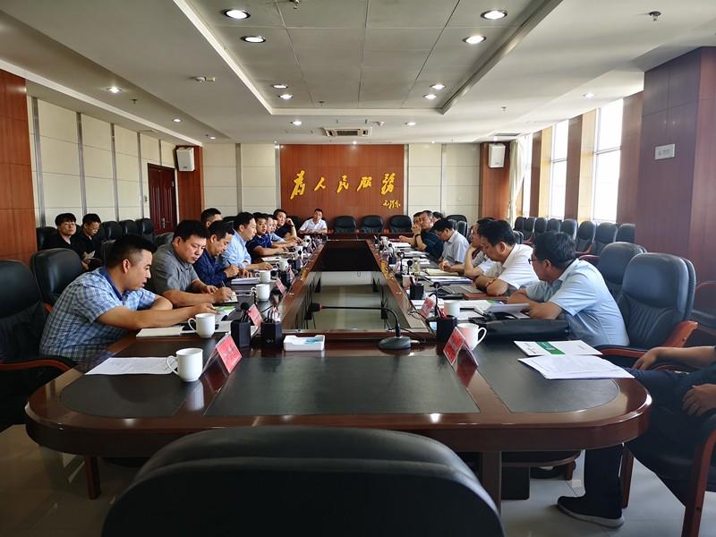 陕西环保集团赴榆林交流考察