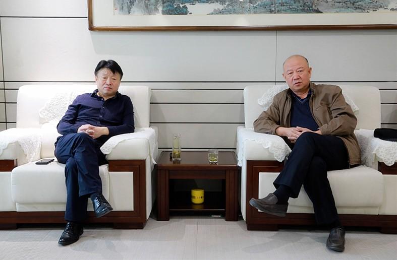 熊良虎会见裕川乐天堂娱乐在线科技公司董事长刘成林