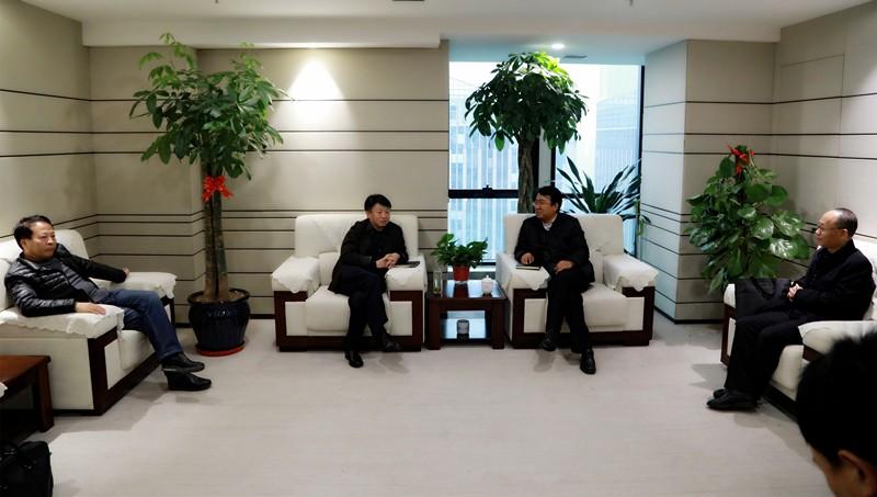 熊良虎会见宝鸡市生态乐天堂娱乐在线局党组书记、局长赵永怀