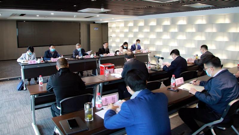 省委组织部、省国资委对陕西环保集团进行2019年度及2017-2019年任期目标责任综合考核