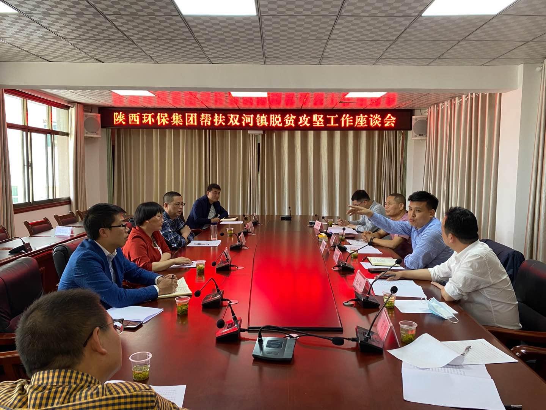 集团公司领导赴旬阳县调研产业扶贫工作