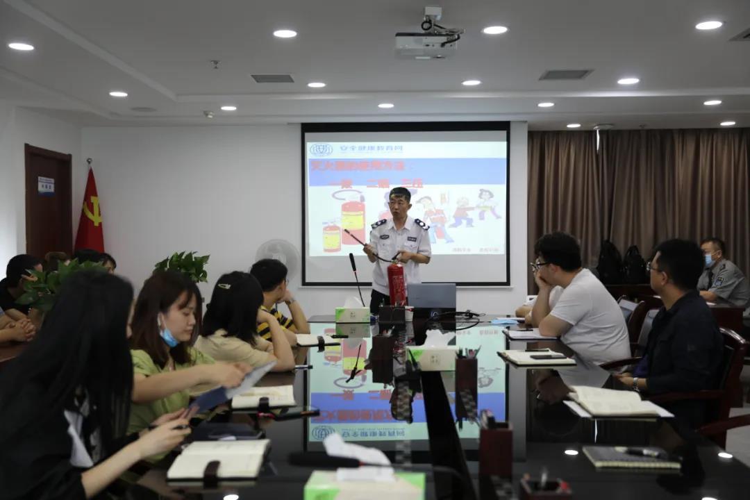 水乐天堂娱乐在线公司开展消防培训暨逃生演练活动
