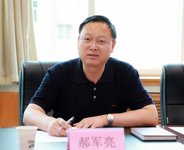 熊良虎拜会渭南市生态bwin下载地址局党委书记、局长左俊